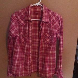 Panhandle Slim pearl snap/western style shirt